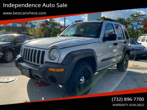2002 Jeep Liberty for sale at Independence Auto Sale in Bordentown NJ