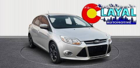 2012 Ford Focus for sale at Layal Automotive in Englewood CO