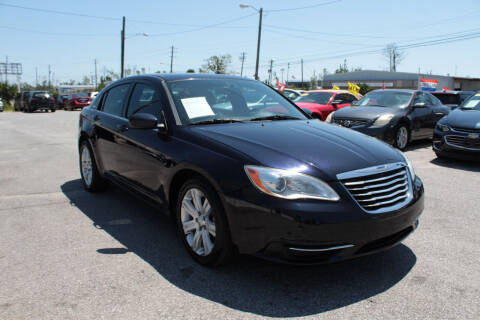 2012 Chrysler 200 for sale at Jamrock Auto Sales of Panama City in Panama City FL