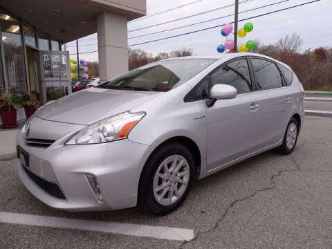 2014 Toyota Prius v for sale at KING RICHARDS AUTO CENTER in East Providence RI