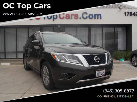 2016 Nissan Pathfinder for sale at OC Top Cars in Irvine CA