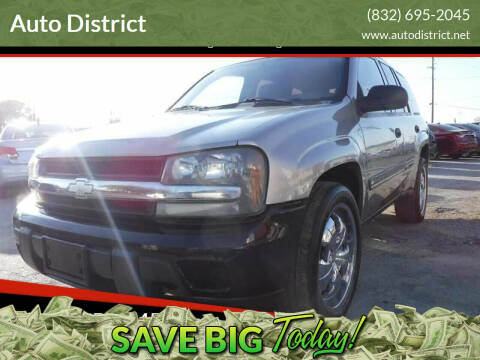 2002 Chevrolet TrailBlazer for sale at Auto District in Baytown TX