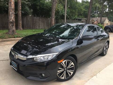 2016 Honda Civic for sale at Laguna Niguel in Rosenberg TX