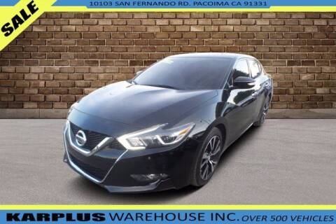 2018 Nissan Maxima for sale at Karplus Warehouse in Pacoima CA