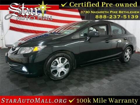 2015 Honda Civic for sale at STAR AUTO MALL 512 in Bethlehem PA