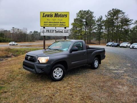 2012 Toyota Tacoma for sale at Lewis Motors LLC in Deridder LA