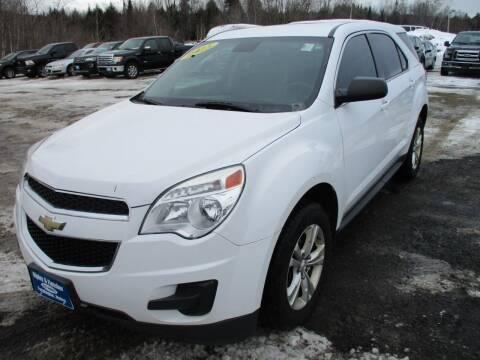 2015 Chevrolet Equinox for sale at Ripley & Fletcher Pre-Owned Sales & Service in Farmington ME