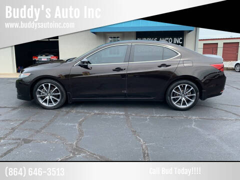 2015 Acura TLX for sale at Buddy's Auto Inc in Pendleton, SC