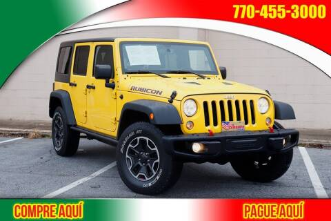 2015 Jeep Wrangler Unlimited for sale at El Compadre Trucks in Doraville GA