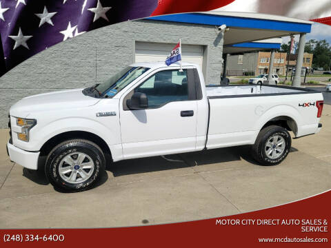 2016 Ford F-150 for sale at Motor City Direct Auto Sales & Service in Pontiac MI