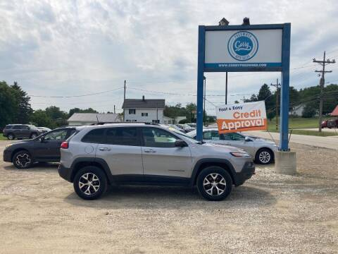 2018 Jeep Cherokee for sale at Corry Pre Owned Auto Sales in Corry PA