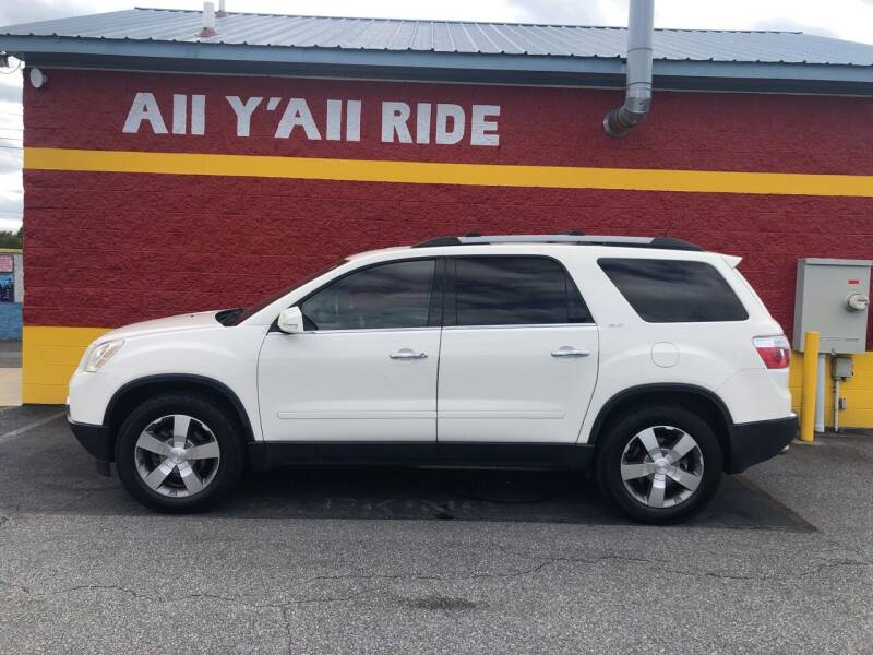 2012 GMC Acadia for sale at Big Daddy's Auto in Winston-Salem NC
