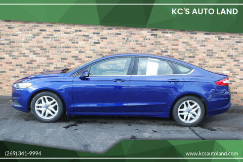 2015 Ford Fusion for sale at KC'S Auto Land in Kalamazoo MI