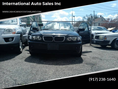2003 BMW 3 Series for sale at International Auto Sales Inc in Staten Island NY