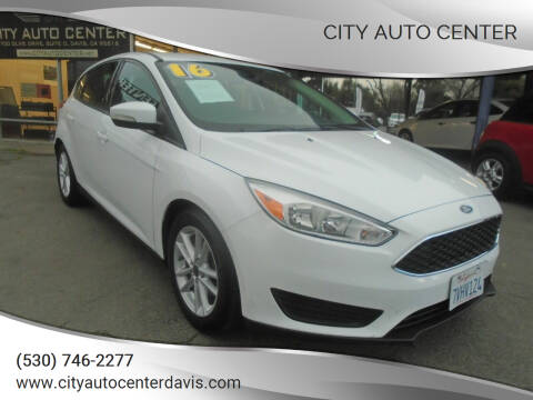 2016 Ford Focus for sale at City Auto Center in Davis CA
