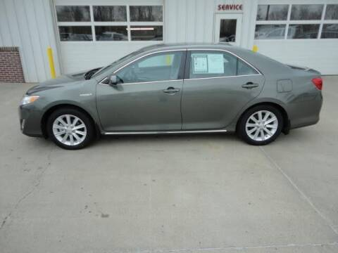 2012 Toyota Camry Hybrid for sale at Quality Motors Inc in Vermillion SD