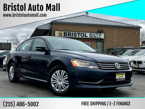 2015 Volkswagen Passat for sale at Bristol Auto Mall in Levittown PA