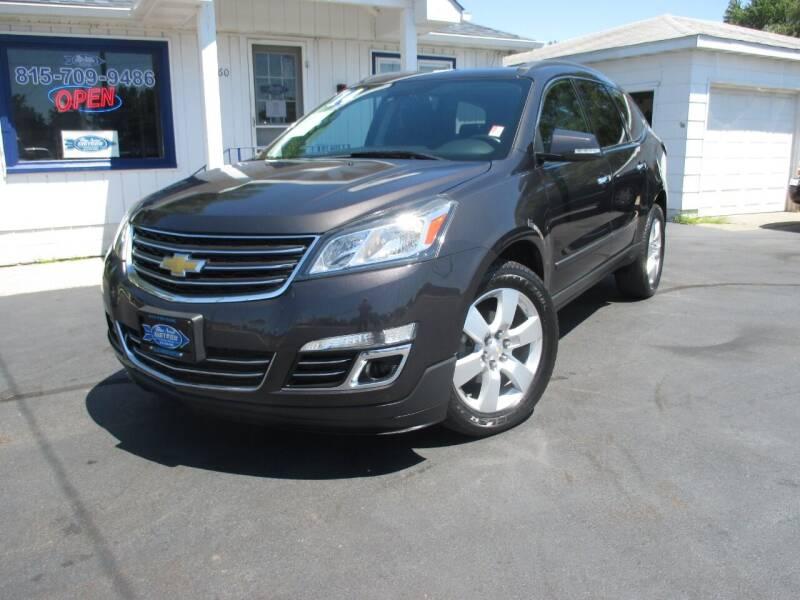 2014 Chevrolet Traverse for sale at Blue Arrow Motors in Coal City IL