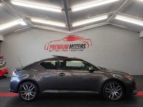 2015 Scion tC for sale at Premium Motors in Villa Park IL