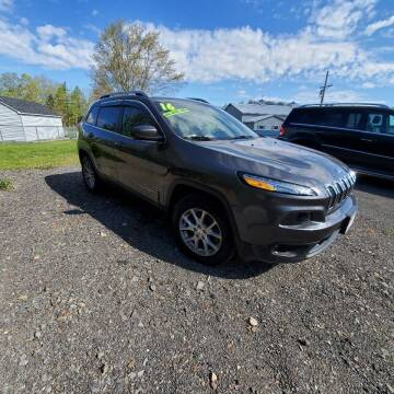 2016 Jeep Cherokee for sale at ALL WHEELS DRIVEN in Wellsboro PA