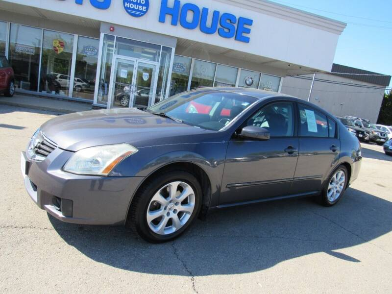 2007 Nissan Maxima for sale at Auto House Motors in Downers Grove IL