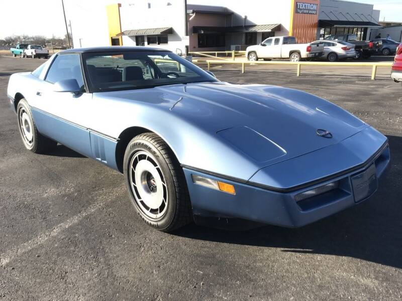 1985 Chevrolet Corvette for sale at Lipscomb Powersports in Wichita Falls TX