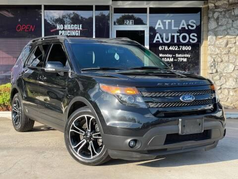 2015 Ford Explorer for sale at ATLAS AUTOS in Marietta GA