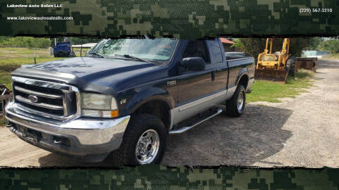 2002 Ford F-250 Super Duty for sale at Lakeview Auto Sales LLC in Sycamore GA