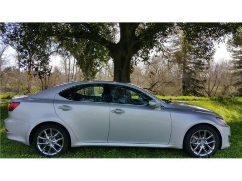 2011 Lexus IS 250 for sale at KARS R US in Modesto CA