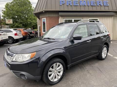 2012 Subaru Forester for sale at Premiere Auto Sales in Washington PA
