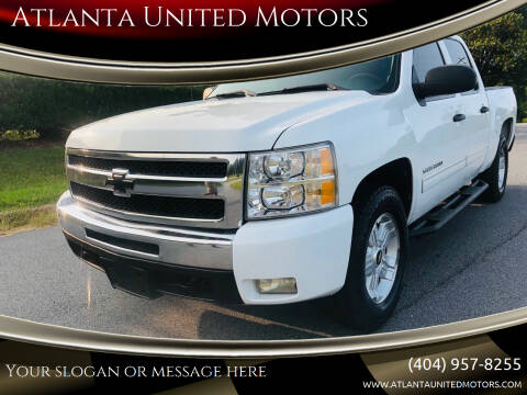 2010 Chevrolet Silverado 1500 for sale at Atlanta United Motors in Buford GA