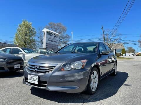 2012 Honda Accord for sale at Auto Cape in Hyannis MA