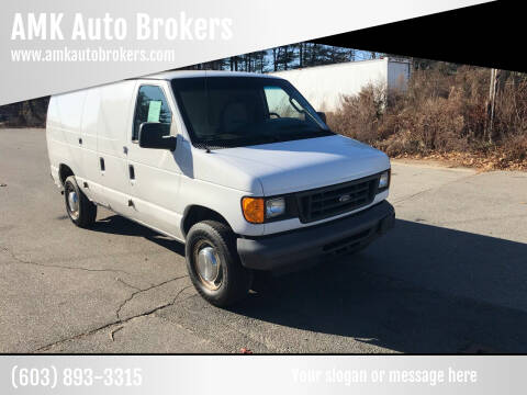 2006 Ford E-Series Cargo for sale at AMK Auto Brokers in Derry NH