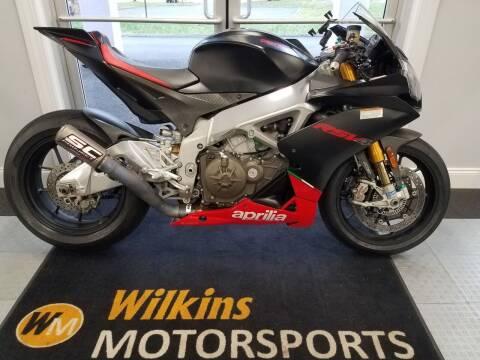 2015 Aprilia RSV4 for sale at WILKINS MOTORSPORTS in Brewster NY