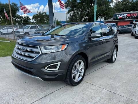 2015 Ford Edge for sale at Prime Auto Solutions in Orlando FL