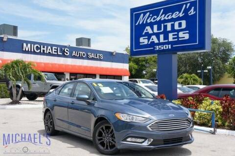 2018 Ford Fusion for sale at Michael's Auto Sales Corp in Hollywood FL