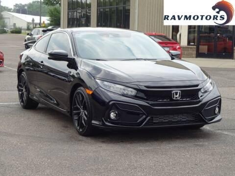 2020 Honda Civic for sale at RAVMOTORS 2 in Crystal MN