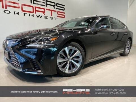 2018 Lexus LS 500 for sale at Fishers Imports in Fishers IN