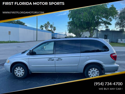 2006 Chrysler Town and Country for sale at FIRST FLORIDA MOTOR SPORTS in Pompano Beach FL