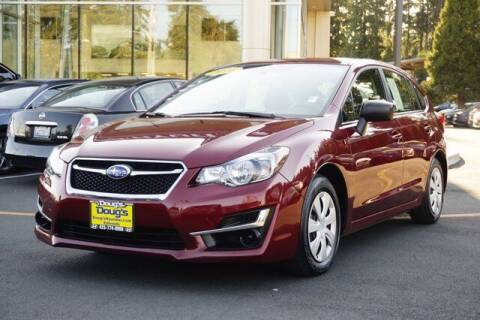 2016 Subaru Impreza for sale at Jeremy Sells Hyundai in Edmunds WA