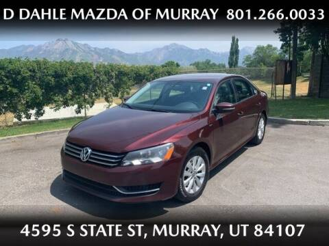 2014 Volkswagen Passat for sale at D DAHLE MAZDA OF MURRAY in Salt Lake City UT