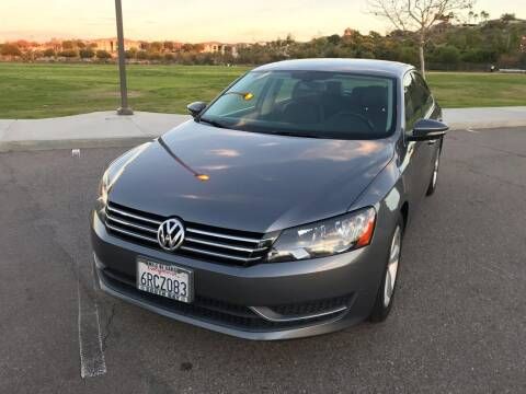 2012 Volkswagen Passat for sale at MSR Auto Inc in San Diego CA