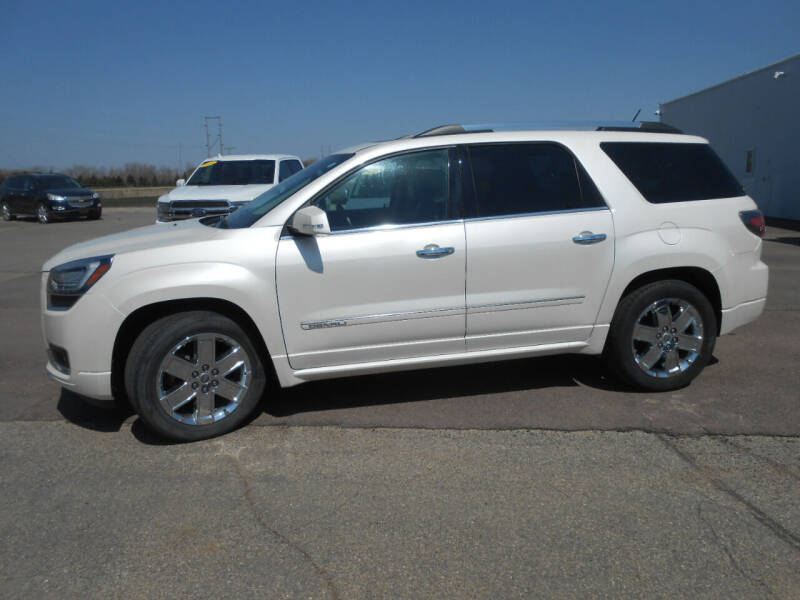 2014 GMC Acadia for sale at Salmon Automotive Inc. in Tracy MN
