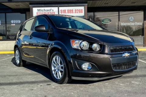 2015 Chevrolet Sonic for sale at Michaels Auto Plaza in East Greenbush NY