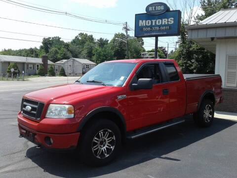 2008 Ford F-150 for sale at Route 106 Motors in East Bridgewater MA