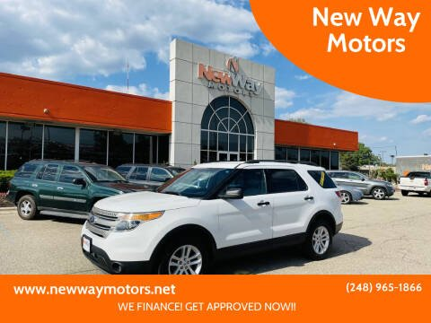 2015 Ford Explorer for sale at New Way Motors in Ferndale MI