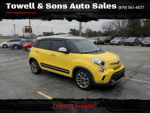 2014 FIAT 500L for sale at Towell & Sons Auto Sales in Manila AR