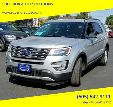 2016 Ford Explorer for sale at SUPERIOR AUTO SOLUTIONS in Spearfish SD
