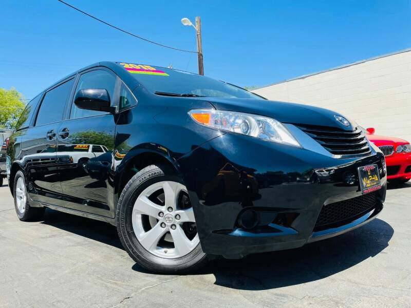 2015 Toyota Sienna for sale at Alpha AutoSports in Roseville CA