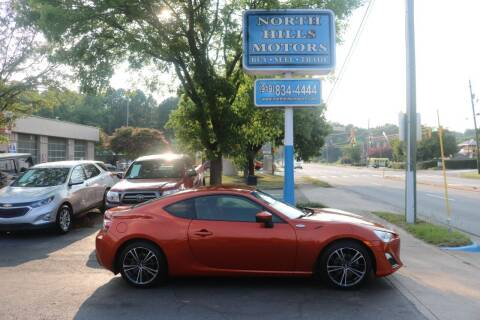 2013 Scion FR-S for sale at North Hills Motors in Raleigh NC